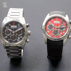 These are just 2 of the many options Tudor Watches gives you for their Fastrider Chronograph. Which one do you wish was on your wrist? #tudor #fastrider #watchmaster