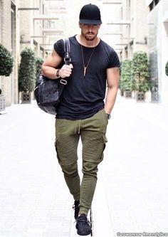 men outfits - 33 the best men's street style 29 ⋆ talkinggames net Plus Size Mens Clothing, Mens Clothing Styles, Stylish Men, Men Casual, Sport Fashion, Mens Fashion, Urban Street Style, Men Street, Sporty Style