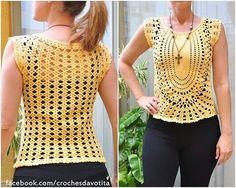 """43 curtidas, 4 comentários - Crochês da Vó Tita (@crochesdavotita) no Instagram: """"Curta nossa página no facebook: facebook.com/crochesdavotita ----------------- #croche #artesanato…"""""""