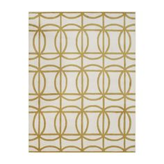 Wayfair - Wildon Home Hand-Tufted Beige / Gold Area Rug