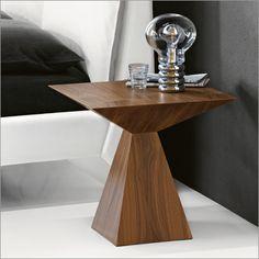 cattelan italia theo pyramid side table by giorgio cattelan