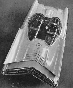 The 1955 Lincoln Futura Show Car. Basis for the original Batmobile from the 1966 TV Show Batman
