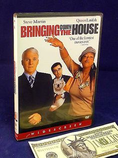 Steve Martin Movie DVD Bringing Down the House Queen Latifah Widescreen DVDs & Movies:DVDs & Blu-ray Discs www.internetauctionservicesllc.com $5.99