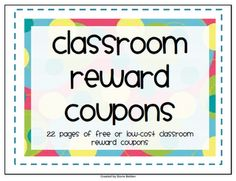 Stories By Storie: Classroom Rewards & Freebie
