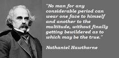 Nathaniel Hawthorne #Quote