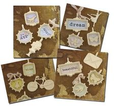 More trinkets from prima - shabby ones at it too! Love esp these...!!