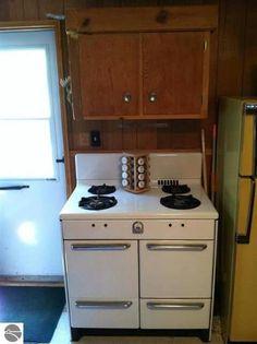vintage rare 1950 s welbilt gas stove range oven white e l 50s era welbilt · 1950sit waskitchen ideasstoves