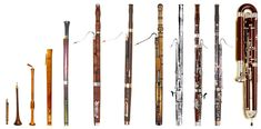 History progression of the Bassoon.