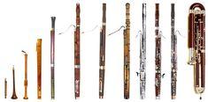 History progression of the Bassoon.