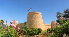 Almeria Castillo de Santa Ana en Roquetas