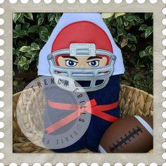 Football Helmet  #FrenchFrills #FFBirthdayBash