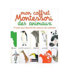 Livre Mon coffret Montessori des animaux pour enfant de 3 ans à 6 ans - Oxybul éveil et jeux 23€