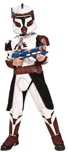 Jedi Costume Boys Child Star Wars Clone Luke Skywalker L 10-12 S 4-6 M 8-10