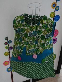 Voici une robe tres graphique!