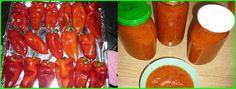 Σάλτσα πάπρικα με πιπεριές Φλωρίνης !! ~ Cookbook Recipes, Dessert Recipes, Cooking Recipes, Desserts, Greek Recipes, Sausage, Food And Drink, Stuffed Peppers, Canning