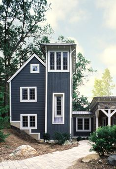 Board And Batten Siding Exterior Design Ideas, Pictures, Remodel and Decor
