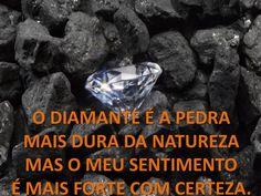 O diamante...