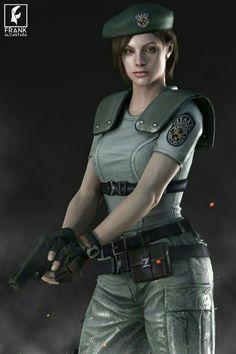 Jillian V. by FrankAlcantara on DeviantArt Resident Evil Girl, Resident Evil 3 Remake, Marvel Dc, Moira Burton, Shinji Mikami, Evil Games, Evil Art, Jill Valentine, Female Soldier
