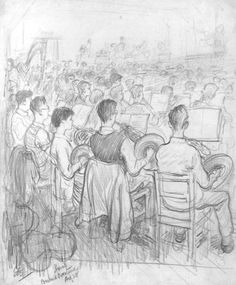 E.H.Shepard - Youth Orchestra