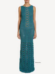 Vestido de Crochet Lilly Sarti