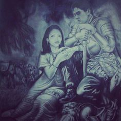 Bertroquai se pinta como Hernan Cortes en su dibujo titulado la noche trste. #Coatepec #Xico #Xalapa #igersveracruz s #mexico_maravilloso #mexicolors #Atelier #Pintandoenelestudio #Pintura #Art_sanity #Art #Arte #ArteLatinoamericano #ArteMexicano #Hiperrealismo #Hiperrealistic #bertiroquai #Lovemyjob #Granformato