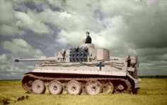 A Tiger 1 scans the featureless steppe of Russia June 1943