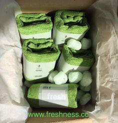 (Werbung) Lieferung vom Osterhasen 🐰 Unsere limited Edition FRESH soap ginger & lime bringt den absoluten Frischekick. Die Kombination aus Ingwer und Limette verwöhnt die Nase mit herrlich frischem Duft, das moosgrüne Bio-Baumwollhandtuch bringt belebendes Grün für die Augen 💚 Shop: www.freshness.cc #frisch #vegan #tierversuchsfrei #madeinaustria Soap, Fresh, Eyes, Advertising, Bar Soap, Soaps