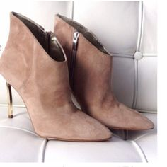 HOST PICKGorgeous Suede Enzo Angiolini booties HOST PICK OF THE PERFECT BLOGGERS ESSENTIAL PARTY!  Worn once.  Small scuff on heels but not noticeable when worn. Suede protected.  Not sure I want to sell yet Enzo Angiolini Shoes Ankle Boots & Booties