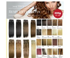 300g 12pcs thick set 100% soft  indian remy clips in/on human hair extensions  ** 20 colors in stock
