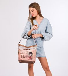 Anekke Arizona - Kabelka Arizona, Printed Tote Bags, Country, Mobiles, Printing On Fabric, Shoulder Bag, Embroidery, Pocket, Prints