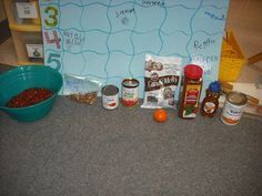 Texas unit kindergarten chili cook off