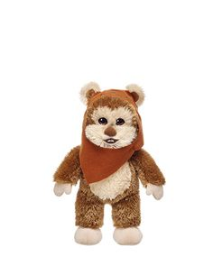 10 in. Mini Ewok   Build-A-Bear Workshop hoping to have a Chewbacca sound chip in him. :)