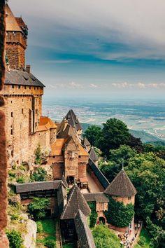 Château du Haut-Koenigsbourg  Alsace, France  Eric DeLorme Photography