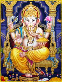GANESH ॐ Hindu God of Plenty