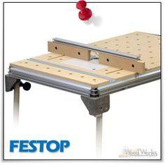 FESTOP - Festool Router Table by WoodWerks