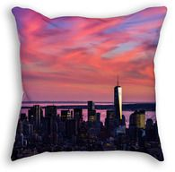 Mad about color? Whatever your preferred hue, add a splash to your next project with this week's vibrant pair of free images. Free Images, New York Skyline, Vibrant, Tapestry, Throw Pillows, Blog, Travel, Art, Tapestries