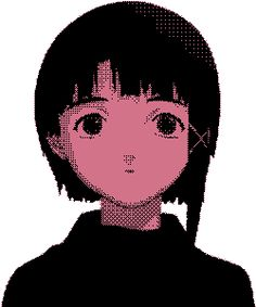 Serial Experiments Lain, Manga Anime, Anime Art, Retro Futurism, Fanart, Love Is All, Cute Art, Cyberpunk, Art Reference