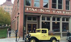 Best restaurants in Asheville NC for families - Pack's Tavern