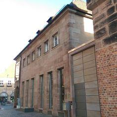 Kunsthalle Nürnberg, Westseite
