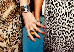 Animal prints are still in style, but I think we are being more discreet about wearing them. Still gorgeous.
