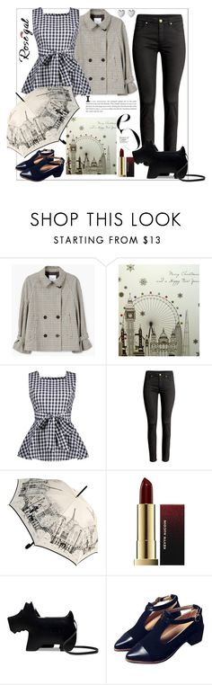 """Rosegal"" by natalyapril1976 ❤ liked on Polyvore featuring MANGO, Five Dollar Shake, Radley and Links of London"
