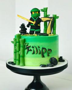 Lego Ninjago Cake, Ninjago Party, Lego Cake, 8th Birthday, Birthday Cakes, Sugar Art, Party Cakes, Doodle Art, Cake Decorating
