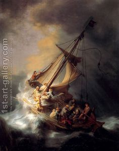 The Storm on the Sea of Galilee - Rembrant