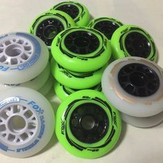 4 Piece Quality 85A speed inline skates Wheels 90mm High Rebound PU Race Skates wheel Wear-Resisting rodas for patines en linea