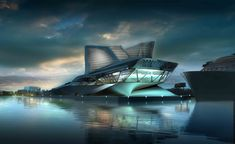 Keelung Harbor Terminal | Synthesis Design + Architecture (SDA) http://www.arch2o.com/keelung-harbor-terminal-synthesis-design-architecture-sda/