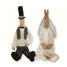 Bride Or Groom Rabbit. The Chic Country Home