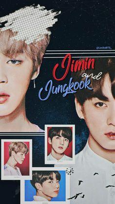 Jimin e JungKook. Jung Kook, Yoonmin, Kpop, Jimin Jungkook, Bts Lockscreen, Bts Fans, Bts Edits, Bts Pictures, Busan