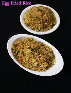 egg fried rice recipe | how to make egg fried rice - Yummy Indian Kitchen #eggrecipes #egg #eggdishes #eggs #eggrice #eggfriedrice #indianeggrecipes