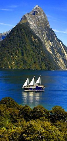 Milford Sound, Fiorland, South Island, New Zealand