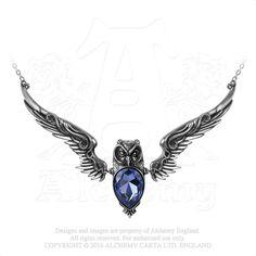 Alchemy of England - P753 - Stryx Pendant, $94.50 (http://www.alchemyofengland.com/p753-stryx-pendant/)